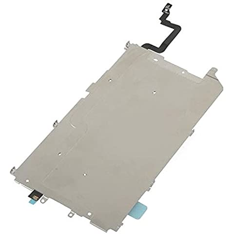 Placa Metalica Soporte LCD + Cable Flex Boton Home Iphone 6 Plus