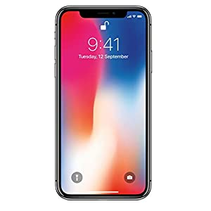 Apple iPhone X (Space Grey, 3GB RAM, 64GB Storage, 12 MP Dual Camera, 458 PPI Display)