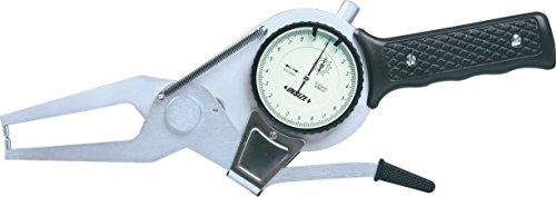 Insize 2332–100 externe Cadran à coulisse Jauge, longueur du bras : 55 mm, 80 Mm-100 mm