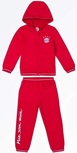 Bayern München kompatibel Baby Jogger + Sticker München Forever, Babyjogger, Jogginganzug, Jacke + Hose (110)