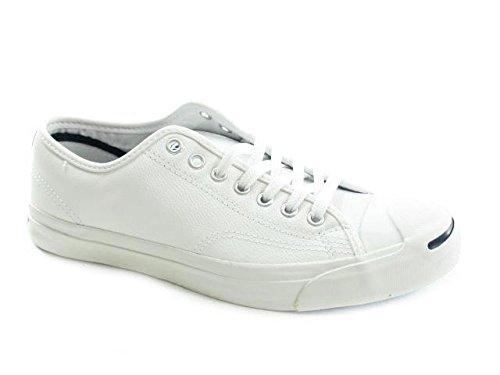 Converse Unisex - Erwachsene Jck Pvrc Lea Ox Sneaker, weiß, 41.5 EU -