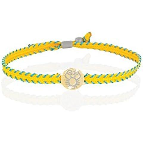 Le Bebè - Bracciale segno zodiacale cancro PRIMEGIOIE Le Bebè in oro giallo 9 kt carati