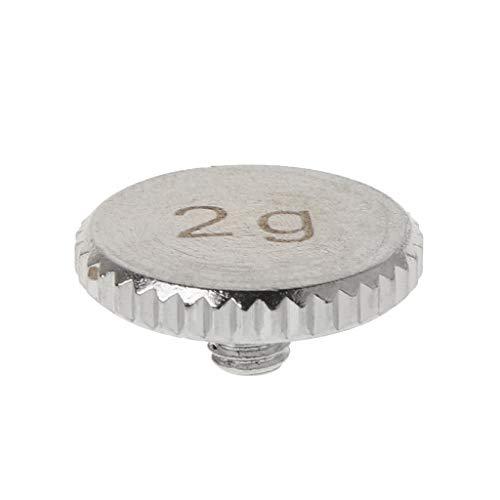 VvXx Headshell 4g 2g Shell Gewicht Plattenspieler Metall Elektro Instrument Teile für SL1200 SL1210 MK 2 3 5 M5G Stylus DJ (Motor Airsoft Lang)
