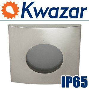K-14 Halogen Led Aluminium Einbauleuchte Einbauspot Ip65 Wasserdicht 230v 12v von Kwazar Leuchte