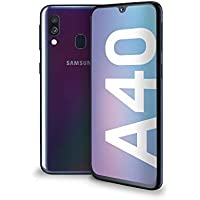 "Samsung Galaxy A40 Display 5.9"", 64 GB Espandibili, RAM 4 GB, Batteria 3100 mAh, 4G, Dual SIM Smartphone, Android 9 Pie, (2019) [Versione Italiana], Black"