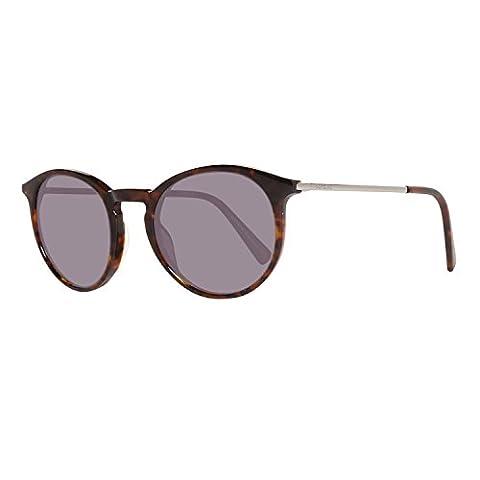 Montblanc MB549S C49 52B (dark havana / gradient smoke) Polarisierende Sonnenbrillen