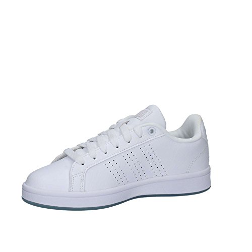Adidas Donna Cf Vantaggio Cl W Scarpe Da Corsa Bianco (ftwbla / Ftwbla / Plamat)