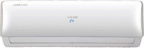 Voltas 1 Ton 3 Star Inverter Split AC (Copper, 123VDyb, White)