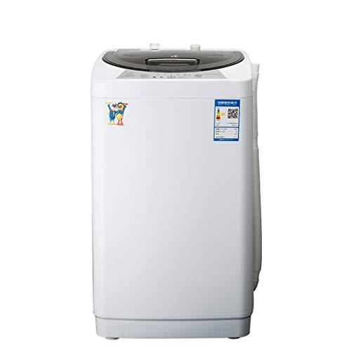 Toplader Waschmaschinen Automatische Haushalts Kleine Waschmaschine Einrohrwaschmaschine Tragbare Kapazität 4,2 Kg (Color : Weiß, Size : 45 * 46 * 76.5cm)
