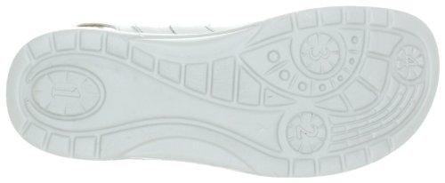 Ganter AKTIV Fabia, F 3-202301-02730, Sandali donna Bianco (Weiss (weiss/silbergrau 0273))