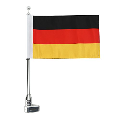 CICMOD deutsche Fahne Kit German Flag Für 2001-2011 Honda GoldWing GL1800 - Fahne Motorrad Honda