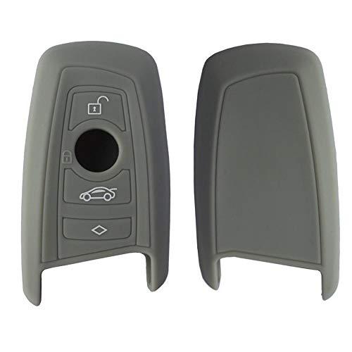 2 PC Silikon-Schlüsseletui, Schlüssel Cover Hülle, Autofernbedienungen Etui Silikon, Keyless Entry Jacket Shell Für BMW Neue X3X4 / X6 5 Serie 7 Serie Silikon-Schlüsseletui