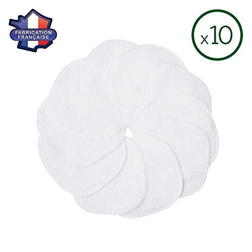 Modulit : 10 Discos Desmaquillantes Lavables bimaterial: