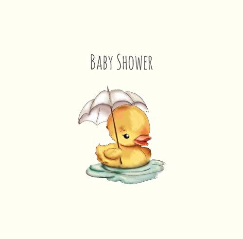 Baby Dusche Ente Karte