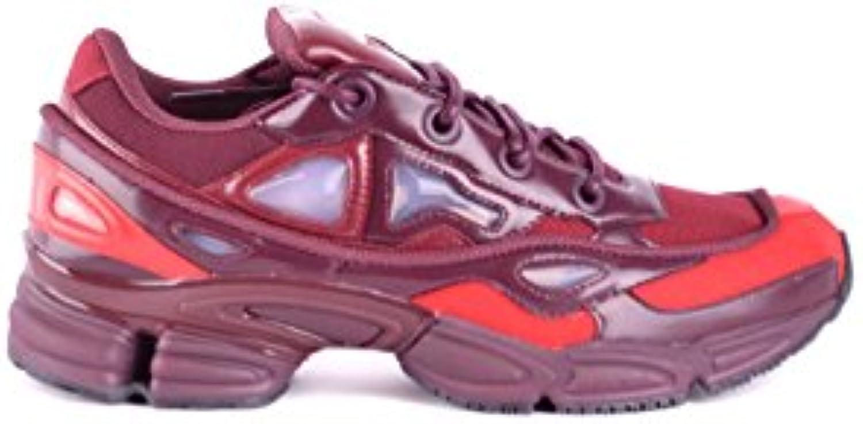 adidas by RAF Simons Herren B22538 Bordeauxrot Polyester Sneakers