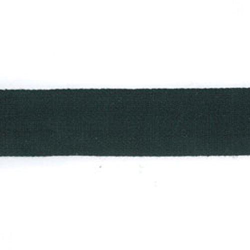 X 19 mm-Mercerie Ruban coton Noir-Rouleau de 50 m