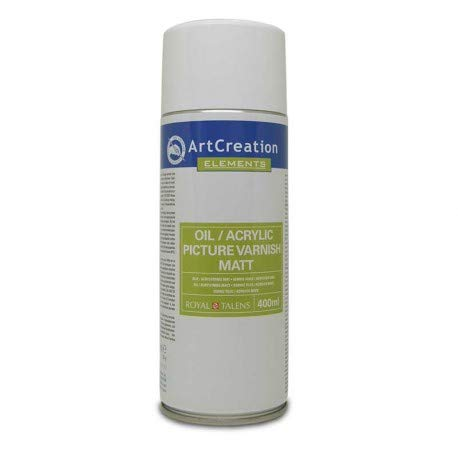 BARNIZ MATE SPRAY ROYAL TALENS 400ML OLEO/ACRILICO