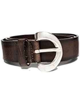 Replay Women's Douglas Women's Leather Black-Brown Belt 100% Leather