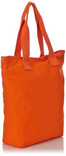 Le Temps Des Cerises Ruby Cotton Damen Shopper Orange (Orange)