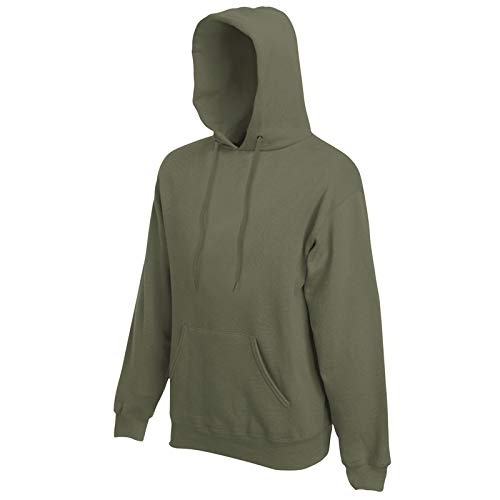 Fruit of the Loom Hooded Sweat Classic Olive - XXL -