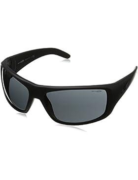 Arnette la Pistola, Gafas de Sol Unisex, Negro Difuminado, 66