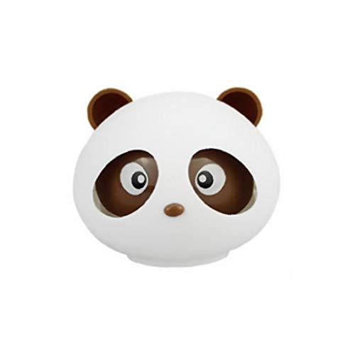 Profumo dell'automobile Deodorante del panda del fumetto Auto Profumo Ornamenti Deodorante auto Aromaterapia decorazione (Brown)