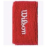 Wilson Double Wristband - Red