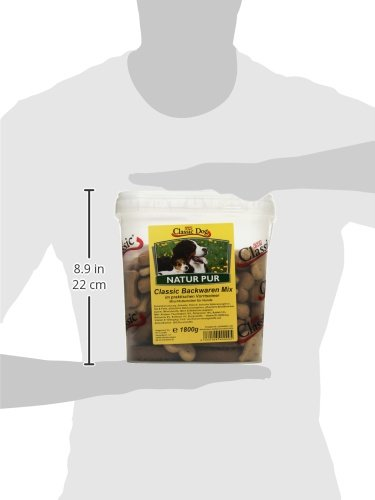 Classic Dog Backwaren-Mix im Eimer, 1er Pack (1 x 1.8 kg) - 4