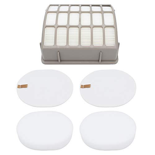 Subtop Ersatzfilter für Shark NV80 NV90 UV420 Staubsauger Packung mit 2 Schaumfilter, 2 Filz Filter und 1 Hepa Filter - Waschbar Wiederverwendbar