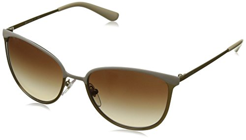 Vogue Eyewear Damen 0VO4002S 996S13 55 Sonnenbrille, Matte Beige/Brushed Gold/Browngradient