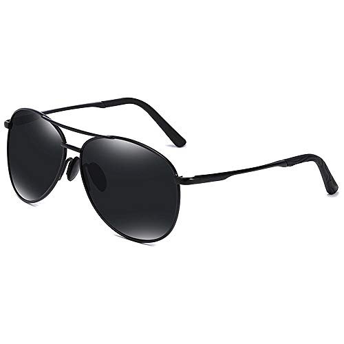 Herren polarisierte Sonnenbrille, hochwertige Brille zum Fahren und Reisen,Black