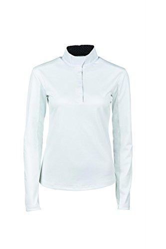 31Ry01p9MHL BEST BUY UK #1Dublin Airflow Top   Ladies Equine Short Sleeve Comfort Dry Competiton Horse price Reviews uk