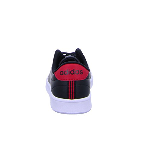 adidas Advantage CL QT W, Scarpe da Fitness Donna Nero/rosa (Negbas/Negbas/Rosene)