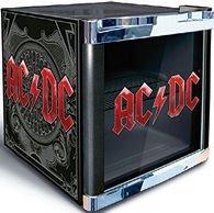 Husky Cool Cube Kühlschrank ACDC , AC / DC , AC/DC Design Minikühlschrank Glastürkühlschrank 50 Liter Nutzinhalt Doppeltes Sicherheitsglas Türanschlag wechselbar ca. 50 x 43,5 x 47 cm