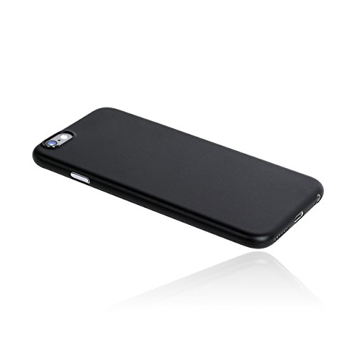 hardwrk ultra-slim Case für iPhone 6 6s - solid white - ultradünne Hülle für Apple iPhone in weiß solid black
