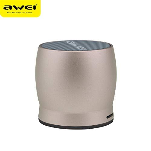 LRWEY AWEI Tragbarer Drahtloser Bluetooth Lautsprecher Mini Stereo Subwoofer TF Karte Outdoor für iPhone, Samsung usw.
