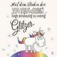 cm Glitzer Einhorn Kinder Sterne Geburtstag ()