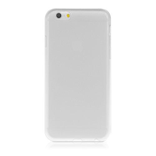 kwmobile TPU Silikon Hülle für Apple iPhone 6 / 6S - Full Body Protector Cover Komplett Schutzhülle Case in Schwarz .Transparent
