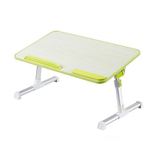 LiuJianQin ZDZ Table Pliante/Raisable/Portable/Amovible/Table d'ordinateur/Table à Manger (Couleur : B, Taille : 60 * 33CM)