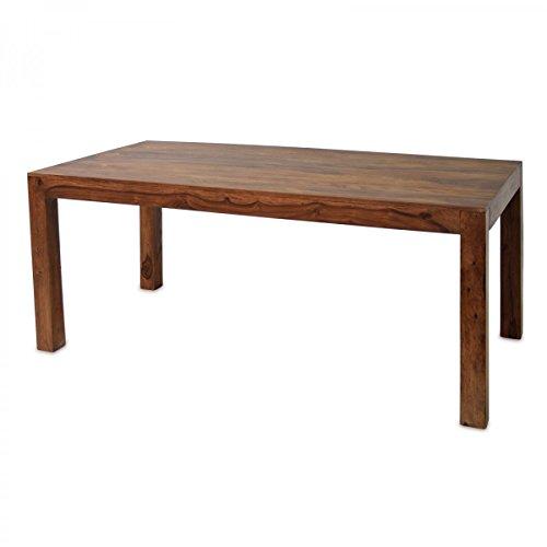 Esstisch Sheesham Massivholz 205 x 105cm Esszimmertisch Küchentisch Jup Braun geölt