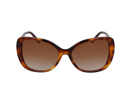 BURBERRY Damen 0Be4238 331613 57 Sonnenbrille, Braun (Havana/Brown)
