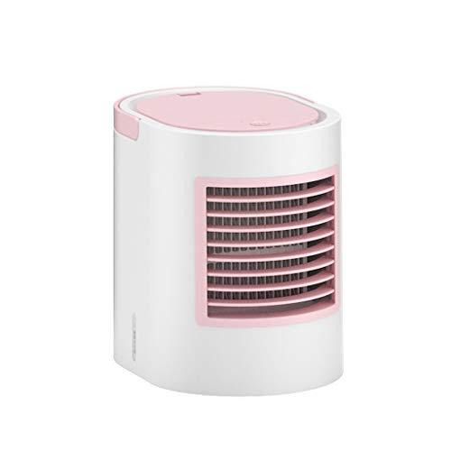 Klimaanlagenlüfter, Luftkühler, Tragbarer 4-in-1-USB-Minilüfter Mit Multifunktion, Luftbefeuchter Und Luftreiniger Mit Nachtlicht, Windgeschwindigkeit Mit 3 Geschwindigkeiten, Familienschreibtischschl 46-in-1 Usb
