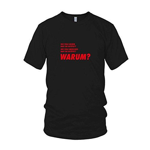 TWD: DREI Fragen - Herren T-Shirt, Größe: XL, Farbe: - Twd Maggie Kostüm