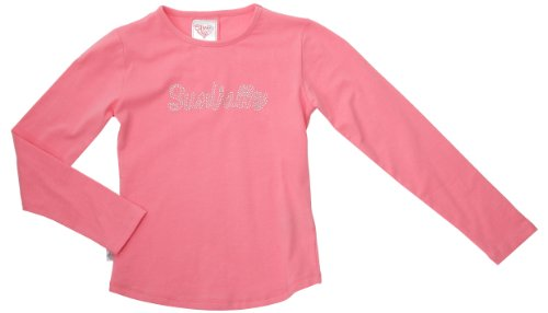 Sun Valley Junior - Maglietta a maniche lunghe da ragazza Jane, rosa (rosa), 4 anni