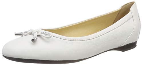 Geox D Lamulay D, Ballerines Femme, Blanc (White), 38 EU