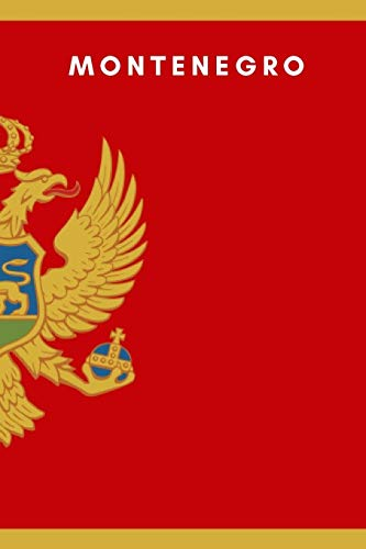 Flag Hat Pin (Montenegro: Country Flag A5 Notebook to write in with 120 pages)