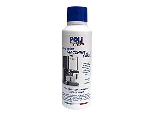 Poli ricambi - spray pulizia per la cura delle macchine da caffè espresso, a capsule, orziere e moka
