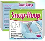 5x7 Snap-Hoop For Brother Brother Quattro 6000D Duetta 4500D Embroidery Machine by Snap Hoop