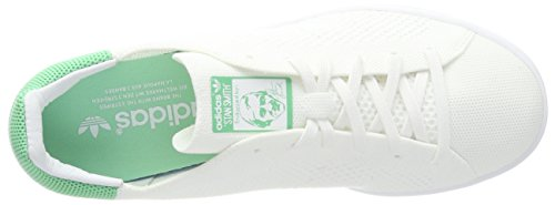 adidas Stan Smith PK, Chaussures de Sport Homme Blanc (Footwear White/green Glow)