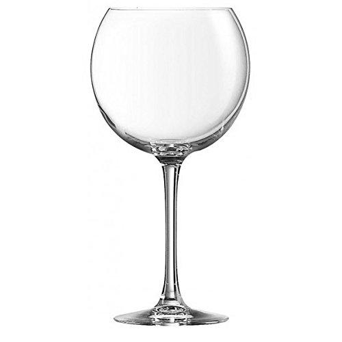 Lot de 6 verres à pied 58 cl pour dégustation vin carrefour home ligne Oenologie